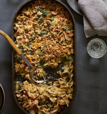 Black Truffle Oil Tuna Noodle Casserole Recipe