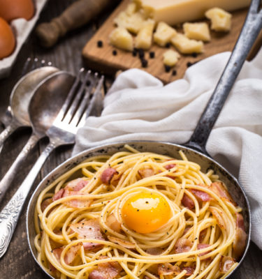 truffle-oil-bacon-and-egg-spaghetti-recipe